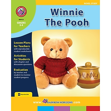 eBook: Winnie The Pooh - Novel Study, Grades 3-4 (PDF version, 1-User Download), ISBN 978-1-55319-038-7
