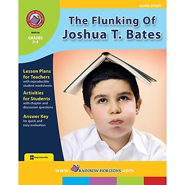 eBook: The Flunking Of Joshua T. Bates - Novel Study, Grades 3-4 (PDF version, 1-User Download), ISBN 978-1-55319-154-4