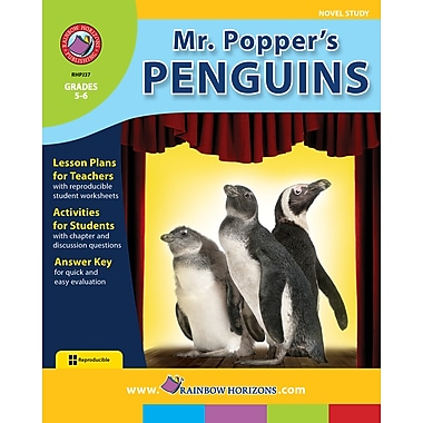 Mr. Popper's Penguins - Novel Study, 5e et 6e années, ISBN 978-1-55319-155-1