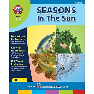 eBook: Seasons In The Sun, Grade 1 (PDF version, 1-User Download), ISBN 978-1-55319-136-0
