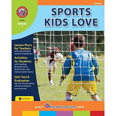 eBook: Sports Kids Love, Grade 1 (PDF version, 1-User Download), ISBN 978-1-55319-114-8