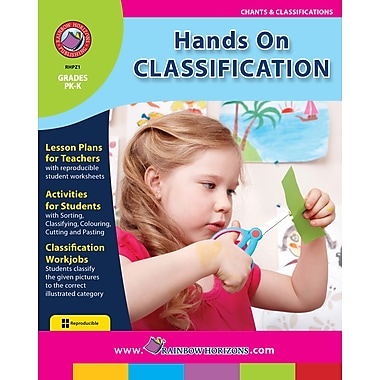 eBook: Hands On Classification, Grades PK-K (PDF version, 1-User Download), ISBN 978-1-55319-228-2