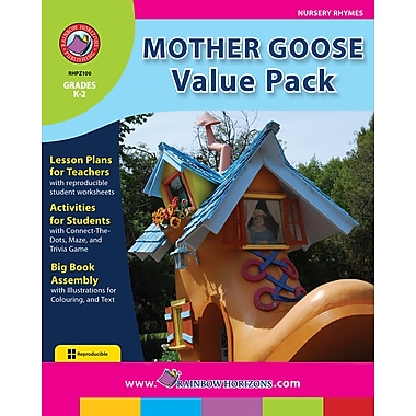 eBook: Mother Goose VALUE PACK, Grades K-2 (PDF version, 1-User Download), ISBN 978-1-55319-242-8