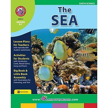 eBook: The Sea, Grades K-1 (PDF version, 1-User Download), ISBN 978-1-55319-263-3