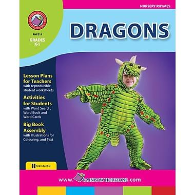 eBook: Dragons, Grades K-1 (PDF version, 1-User Download), ISBN 978-1-55319-219-0