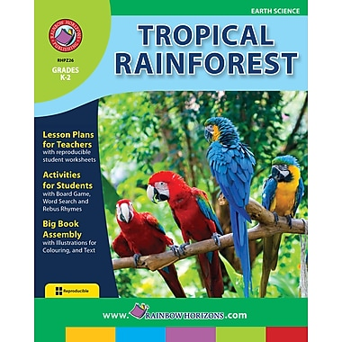 eBook: Tropical Rainforest, Grades K-2 (PDF version, 1-User Download), ISBN 978-1-55319-280-0