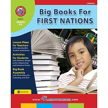 Big Books For First Nations, maternelle à 2e année, ISBN 978-1-55319-210-7
