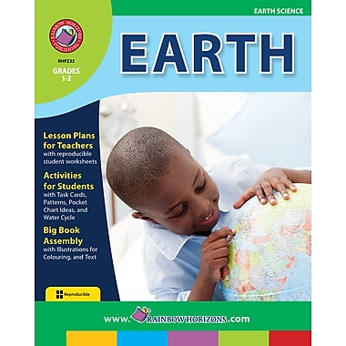 eBook: Earth, Grades 1-2 (PDF version, 1-User Download), ISBN 978-1-55319-220-6