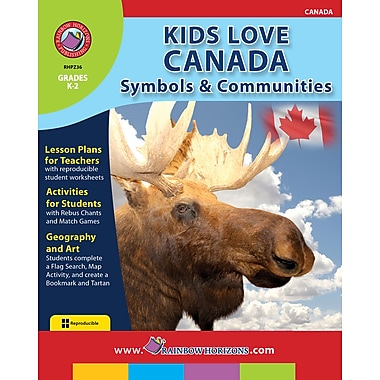 eBook: Kids Love Canada: Symbols & Communities, Grades K-2 (PDF version, 1-User Download), ISBN 978-1-55319-275-6