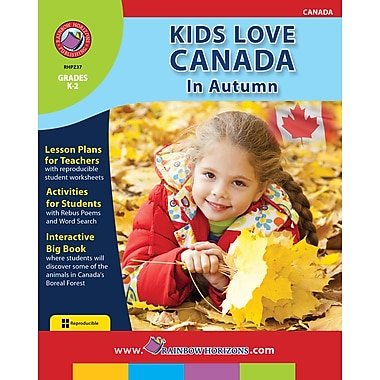 eBook: Kids Love Canada: In Autumn, Grades K-2 (PDF version, 1-User Download), ISBN 978-1-55319-276-3