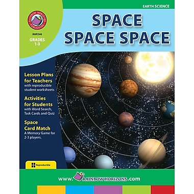 Space Space Space, Grades 1-3, ISBN 978-1-55319-265-7