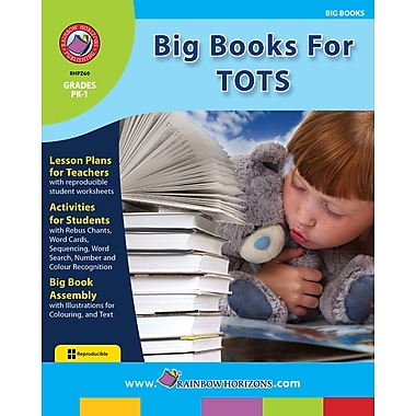 eBook: Big Books For Tots, Grades PK-1 (PDF version, 1-User Download), ISBN 978-1-55319-211-4