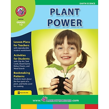 eBook: Plant Power, Grades 1-2 (PDF version, 1-User Download), ISBN 978-1-55319-130-8