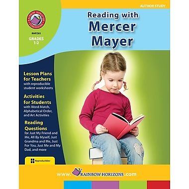 eBook: Reading with Mercer Mayer - Author Study, Grades 1-2 (PDF version, 1-User Download), ISBN 978-1-55319-116-2