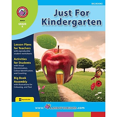 eBook: Just For Kindergarten, Grade K (PDF version, 1-User Download), ISBN 978-1-55319-233-6