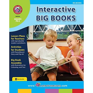 eBook: Interactive Big Books, Grades PK-K (PDF version, 1-User Download), ISBN 978-1-55319-142-1