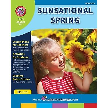 eBook: Sunsational Spring, Grades K-1 (PDF version, 1-User Download), ISBN 978-1-55319-268-8