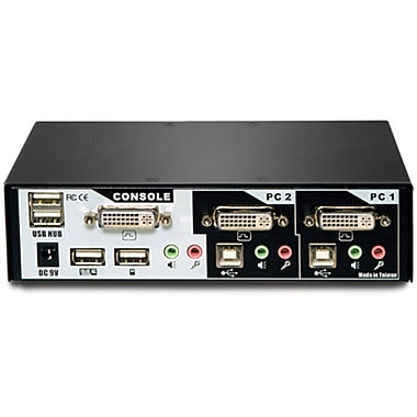 Avocent® 2SVDVI30BND1001 SwitchView™ DVI KVM Desktop Switches