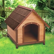 Ware Manufacturing Premium A-Frame Dog House; Large (35.5'' H x 33'' W x 40'' D)