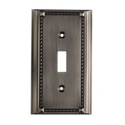 Elk Lighting Clickplates in Single Small Switch Plate in Antique Platinum
