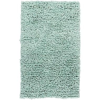 Chandra Paper Shag Blue Area Rug; 3'6'' x 5'6''