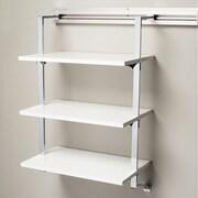 Orginnovations Inc Arrange a Space Three Shelf Add-on; White