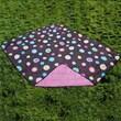 All Weather Indoor/Outdoor Reversible Polyester Travel Blanket