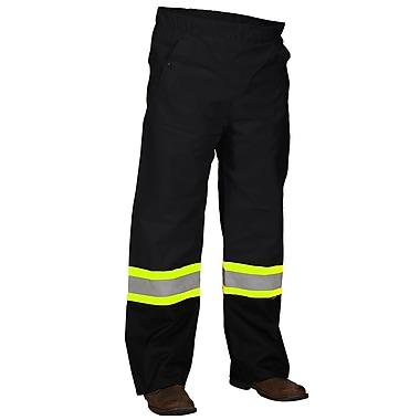 Forcefield Safety Rain Pant, Black, Xlarge