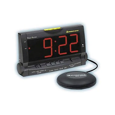 Clarity Wake Assure Extra Loud Alarm Clock with Large Numbers