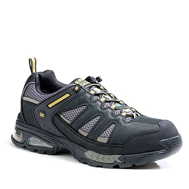 Kodiak Gaynor Quadair 3G Men's Athletic Safety Shoe, Black and Grey, Size 10