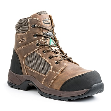 Kodiak Trek Men's Safety Hiker, Brown, Size 7
