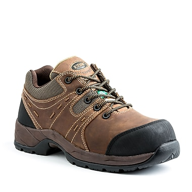 Kodiak Trail Men's Safety Hiker, Brown, Size 7.5