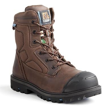 Kodiak – Chaussures de travail Blue Renegade pour hommes, 8 po, brun, taille 9