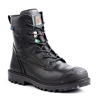 Kodiak – Chaussures de travail Blue Renegade de 8 po en cuir, noir