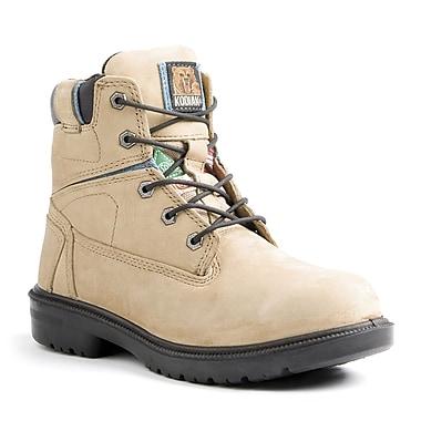 Kodiak – Chaussures de travail Blue pour femmes, 8 po, taupe, taille 7,5
