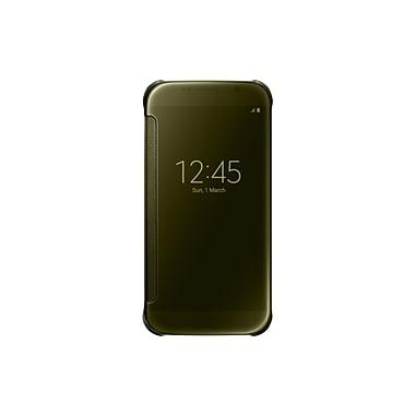 Samsung - Étui de protection Clear View pour GS6, doré
