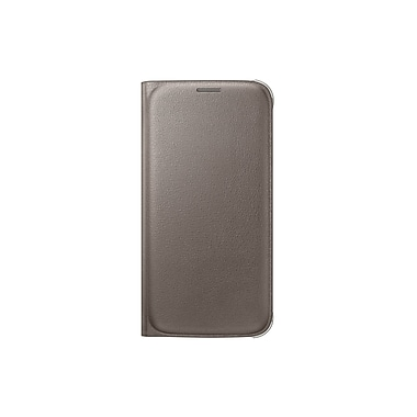 Samsung Flip Wallet for GS6 (PU), Gold