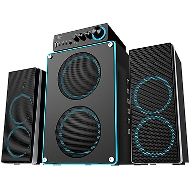 Arion Legacy ARDS550-BK 3-Piece Extreme Clarity 2.1 Speaker System, Black, English