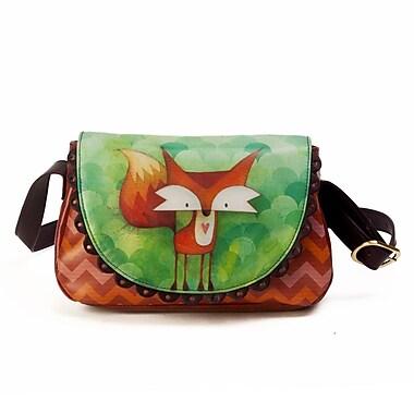 Ketto Mini-Flap Purse, Fox