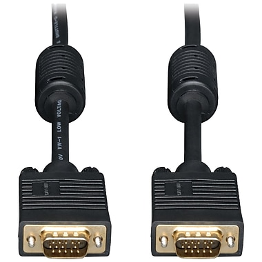 Tripp Lite 35Ft Svga/VGA Monitor Goldcable Rgb Coax Hd15 Male / Male ( P502035)