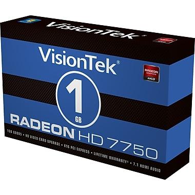 VisionTek – Carte graphique AMD Radeon HD 7750 900549CA 128 bits PCIe 3.0 de 1 Go GDDR5