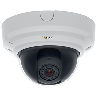 Axis Communications 0481-001 Wired Dome Network Camera, White
