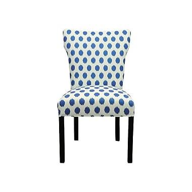 Sole Designs Bella Side Chair (Set of 2); Jojo Aquarius