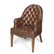 Seven Seas Seating Cleveland Leather Executive Lounge Chair; Derby Brown