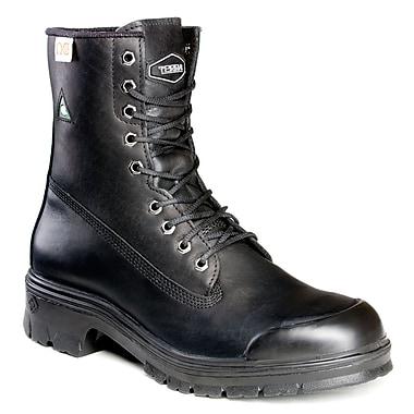 Terra – Chaussures de travail Sentry pour hommes, 8 po, noir, taille 7