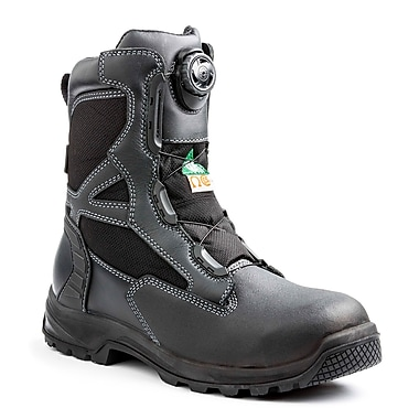 Terra – Chaussures de travail Rexton BOA pour hommes, 8 po, noir, taille 9
