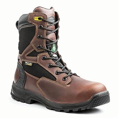 Terra – Chaussures de travail Rexton pour hommes, 8 po, acajou, taille 9,5