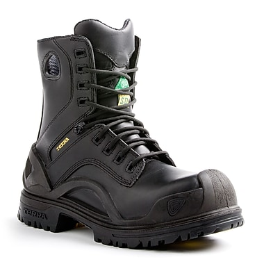Terra – Chaussures de travail Bridge pour hommes, 8 po, noir, taille 10