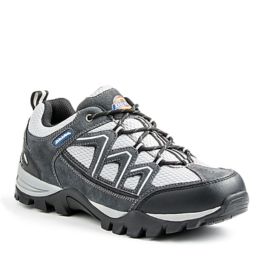 Dickies® Solo Men's Safety Hiker, Grey, Size 9.5