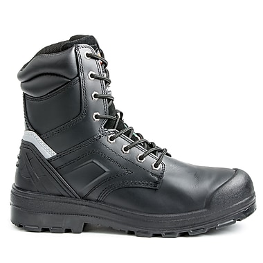 DickiesMD – Chaussures de travail Overtime pour hommes, 8 po, noir, taille 11